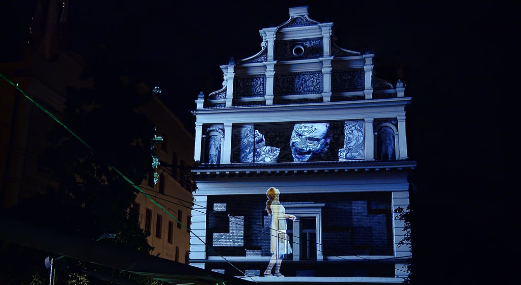 projection mapping on Smetana museum