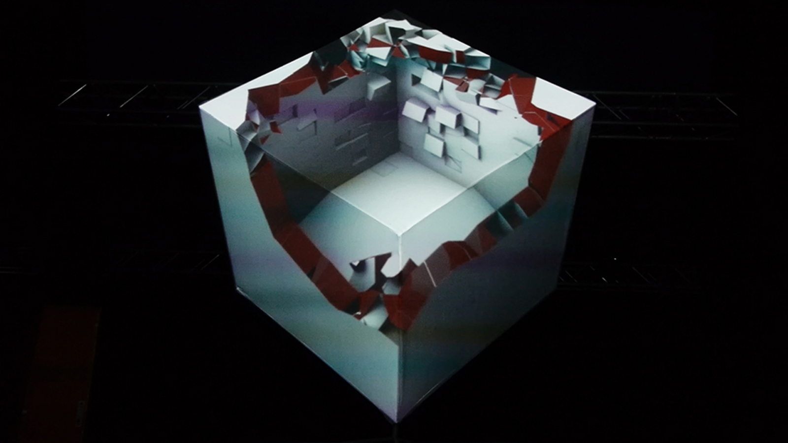 Projection Mapping on the Buildings | Ati Sphere on